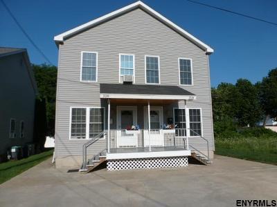 Mechanicville Single Family Home For Sale: 328 North 6th Av
