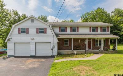 Saratoga Springs Single Family Home For Sale: 2910 Nys Route 29