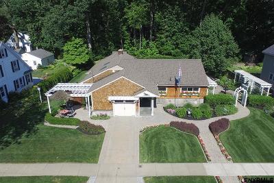 Saratoga County Single Family Home For Sale: 28 Pinewood Av