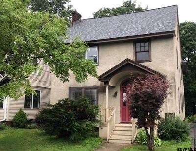 Schenectady Single Family Home Price Change: 1039 Maryland Av