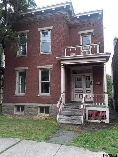 Cohoes Single Family Home For Sale: 80 Congress St