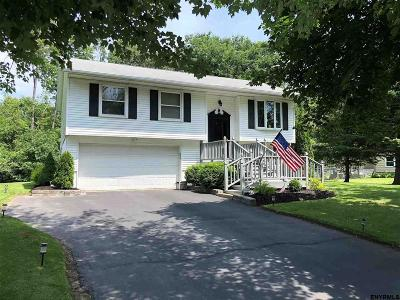 Cohoes Single Family Home For Sale: 86 Spring Hollow Dr