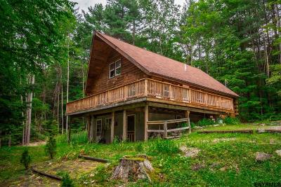Lake George, Bolton Single Family Home For Sale: 11 Old Military La (Pvt)