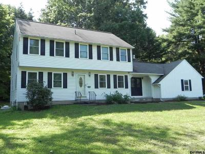 Niskayuna Single Family Home For Sale: 2333 Knolls View Dr