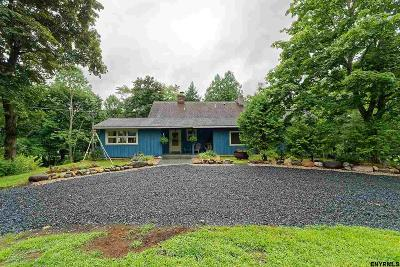 Saratoga County Single Family Home For Sale: 114 Lake Rd