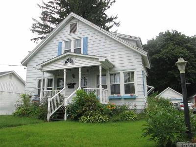Gloversville NY Single Family Home For Sale: $99,500