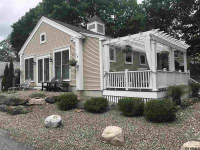 Saratoga Springs NY Single Family Home Back On Market: $549,000