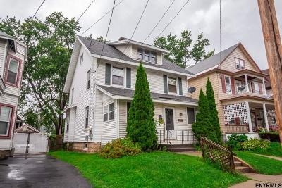 Schenectady Single Family Home For Sale: 116 Elmer Av