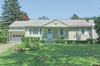 Guilderland Single Family Home For Sale: 6 Seeley Dr
