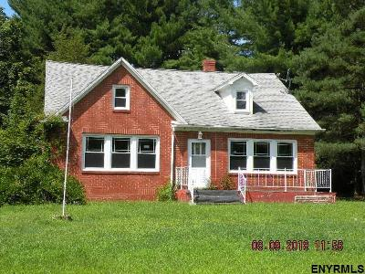 Single Family Home For Sale: 301 North Schodack Rd