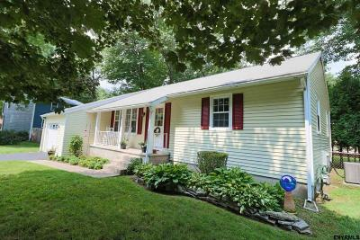 Saratoga Springs NY Single Family Home For Sale: $249,000