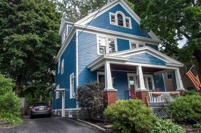 Schenectady Single Family Home For Sale: 1664 Lenox Rd