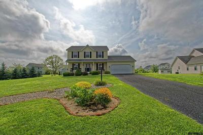 Albany, Amsterdam, Cohoes, Glens Falls, Gloversville, Hudson, Johnstown, Mechanicville, Rensselaer, Saratoga Springs, Schenectady, Troy, Watervliet Single Family Home For Sale: 31 Bent Grass Dr