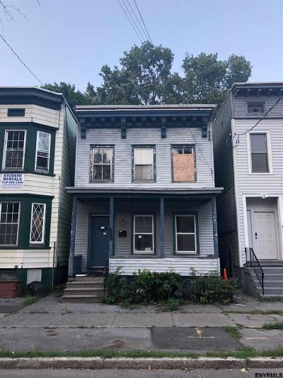 Albany NY Single Family Home For Sale: $64,900