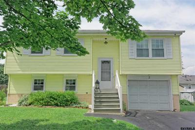 Cohoes Single Family Home For Sale: 2 Mazurki Ct