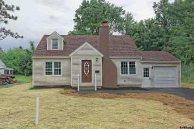 Niskayuna Single Family Home For Sale: 1913 Holiday Dr