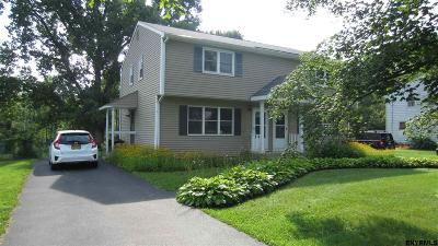 Voorheesville Two Family Home For Sale: 53 North Main St