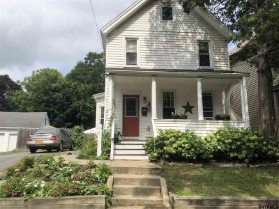 Scotia Single Family Home Price Change: 105 N Ten Broeck Av