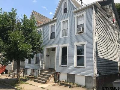 Troy Multi Family Home For Sale: 456-458 8th St