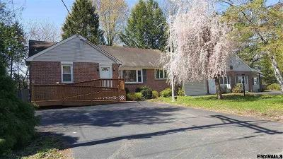East Greenbush Single Family Home Price Change: 2 Pittsfield Av