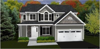 Halfmoon Single Family Home New: Lot 10 Victor Dr