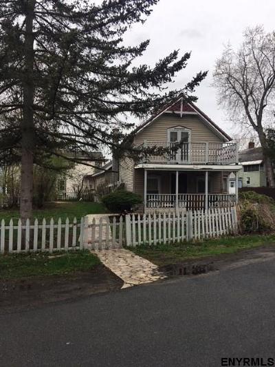 Saratoga County Single Family Home For Sale: 21 Wesley Av