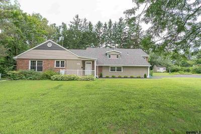 Niskayuna Single Family Home Price Change: 1512 Dorwaldt Blvd