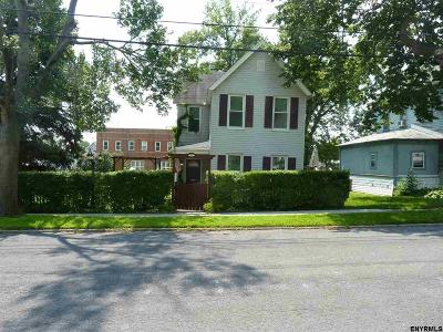 Albany County, Columbia County, Greene County, Fulton County, Montgomery County, Rensselaer County, Saratoga County, Schenectady County, Schoharie County, Warren County, Washington County Single Family Home New: 117 James St