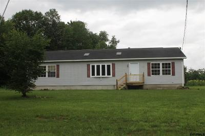 Galway, Galway Tov, Providence Single Family Home For Sale: 2577 Hermance Rd