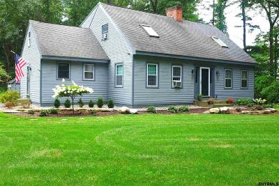Saratoga Springs Single Family Home For Sale: 56 Adams Rd