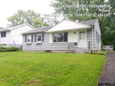 Albany NY Single Family Home For Sale: $89,900