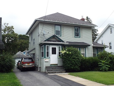 Gloversville NY Single Family Home For Sale: $114,900