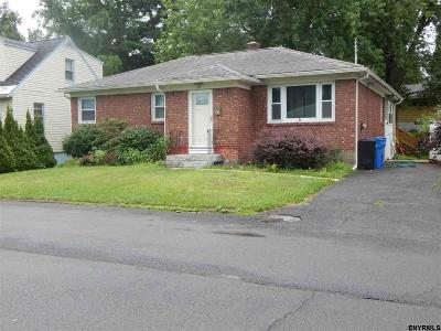 Albany NY Single Family Home For Sale: $184,900