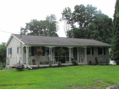 Rensselaer County Single Family Home For Sale: 70 Sweetmilk Creek Rd