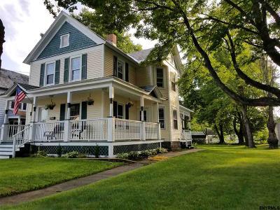Saratoga County Single Family Home For Sale: 350 Main St