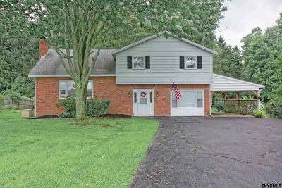 Schenectady County Single Family Home For Sale: 391 Van Vorst Rd