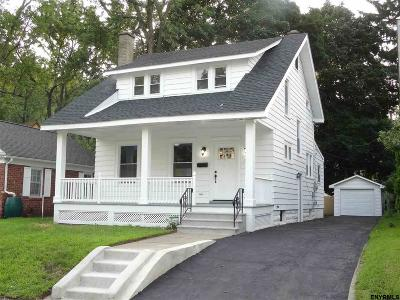 Schenectady Single Family Home For Sale: 719 Decamp Av