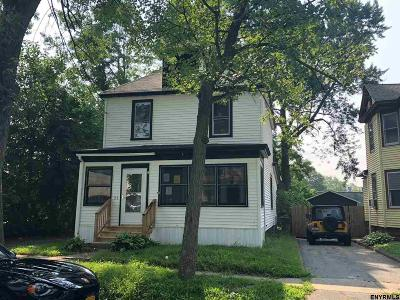 Albany, Amsterdam, Cohoes, Glens Falls, Gloversville, Hudson, Johnstown, Mechanicville, Rensselaer, Saratoga Springs, Schenectady, Troy, Watervliet Single Family Home New: 24 Wilson Av