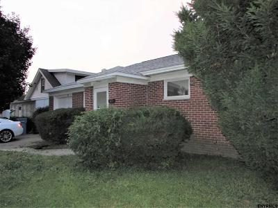 Albany NY Single Family Home For Sale: $134,900