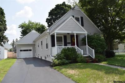 Albany, Amsterdam, Cohoes, Glens Falls, Gloversville, Hudson, Johnstown, Mechanicville, Rensselaer, Saratoga Springs, Schenectady, Troy, Watervliet Single Family Home New: 83 Clermont St