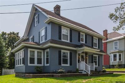 Albany, Amsterdam, Cohoes, Glens Falls, Gloversville, Hudson, Johnstown, Mechanicville, Rensselaer, Saratoga Springs, Schenectady, Troy, Watervliet Single Family Home New: 4 W Second Av