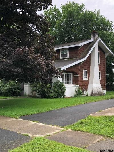 Menands Single Family Home For Sale: 4 Tillinghast Av