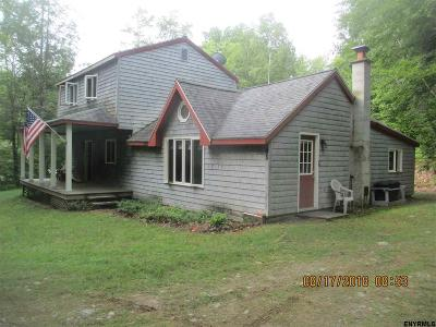 Albany County, Columbia County, Greene County, Fulton County, Montgomery County, Rensselaer County, Saratoga County, Schenectady County, Schoharie County, Warren County, Washington County Single Family Home New: 95 Black River Rd