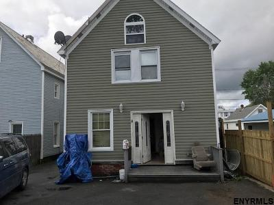 Albany, Amsterdam, Cohoes, Glens Falls, Gloversville, Hudson, Johnstown, Mechanicville, Rensselaer, Saratoga Springs, Schenectady, Troy, Watervliet Single Family Home New: 111 Odell St