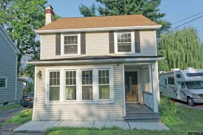 Niskayuna Single Family Home For Sale: 1037 Balltown Rd