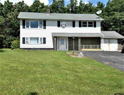 Schenectady County Single Family Home New: 5658 Mariaville Rd