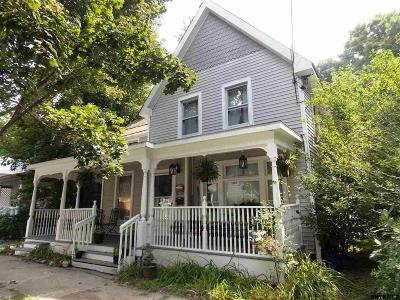 Saratoga Springs Multi Family Home For Sale: 12 Clark St