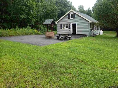 Albany County, Columbia County, Greene County, Fulton County, Montgomery County, Rensselaer County, Saratoga County, Schenectady County, Schoharie County, Warren County, Washington County Single Family Home New: 5734 Lake Rd