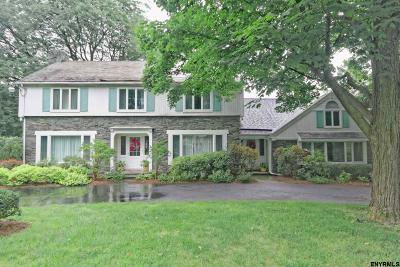 Niskayuna Single Family Home For Sale: 1100 Ruffner Rd