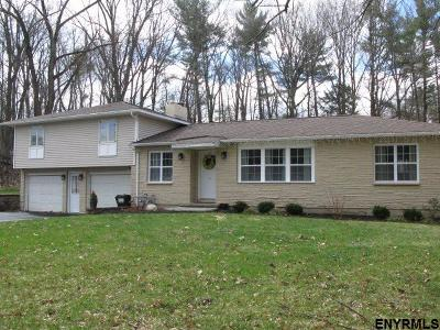 Clifton Park Single Family Home For Sale: 36 Glenridge Rd